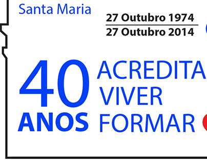 Distintivo dos 40 anos do Agrupamento 415