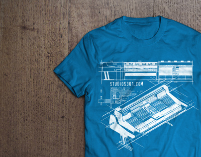 """Blueprint"" Limited Edition T-Shirt"