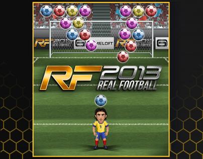 Real Football 2013 Falcao's Minigame