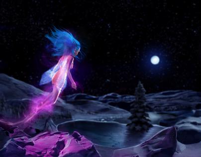 Photoshop Tutorial: X-Mas Fairy