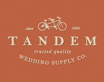 Tandem Wedding Supply Co. Branding