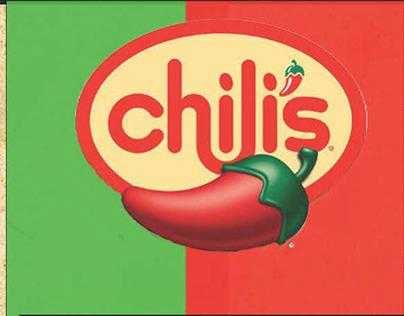 Chilis Menu Design Concept