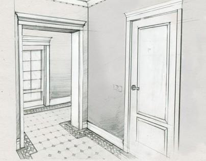 My interior sketchbook