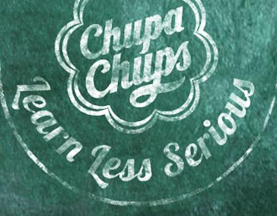 Chupa Chups Learn Less Serious