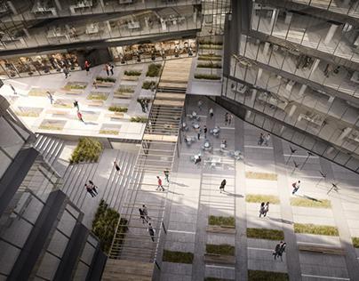 office building p.2 visualizations_for_JEMS_Architekci