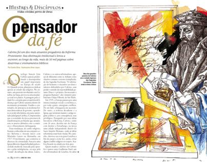 MAGAZINE AND NEWSPAPER PAGES. JORNAIS E REVISTAS.