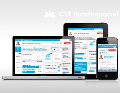 CSS Kundenportal (Pitch-Design)