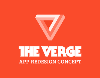 The Verge Redesign Concept