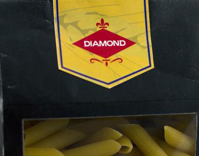 Diamond Tradizionale Pasta Range Packaging