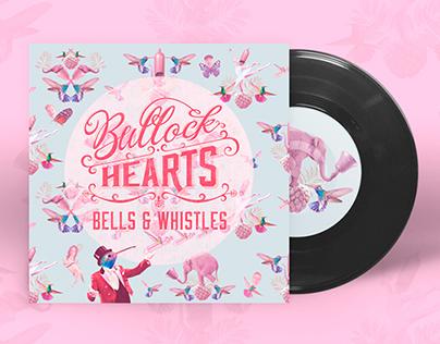 Bullock Hearts - Bells & Whistles artwork & pattern