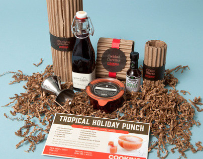 HOLIDAY COCKTAILS PACKAGING