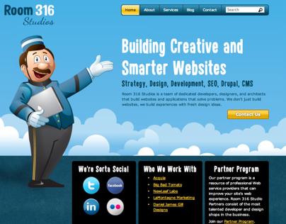 Room 316 Studios website