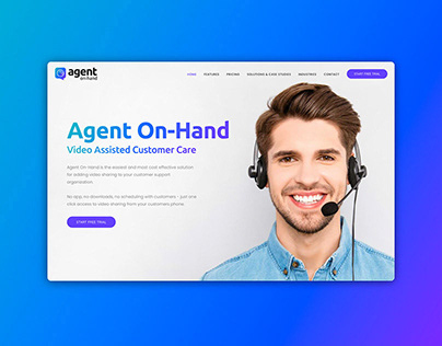 Website & Branding for Agent On-Hand
