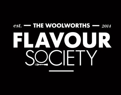THE WOOLWORTHS FLAVOUR SOCIETY