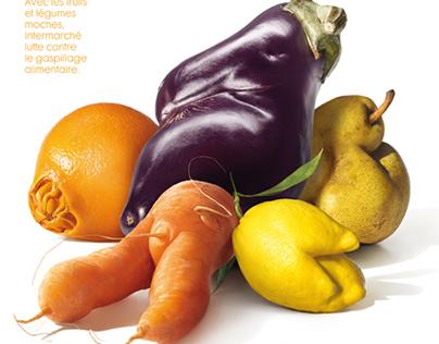 Intermarché /// Les fruits et légumes moches