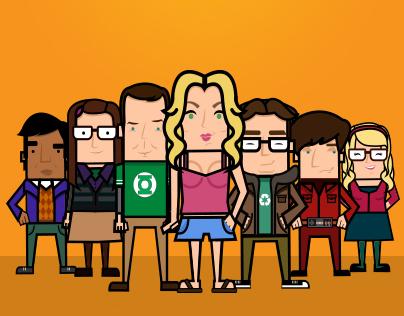 The Big Bang Theory / Character Illustration