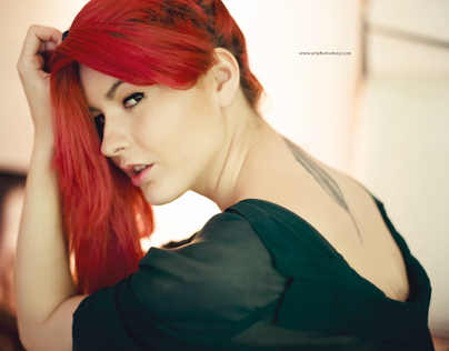sensual session - red head