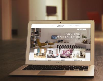 Felicitas Furniture - Web Design
