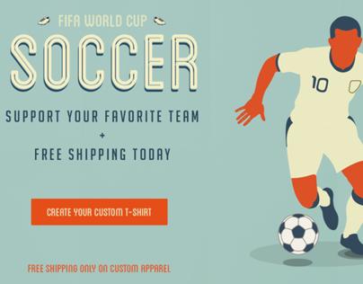 FIFA World Cup - Custom t shirt