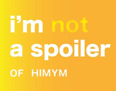 HIMYM SPOILER