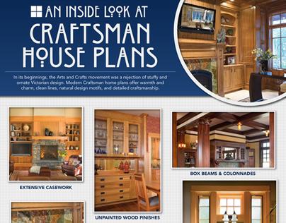 Craftsman Houseplans Infographic