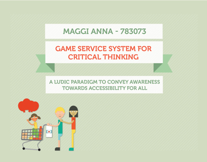 Game Service System for Critical Thinking