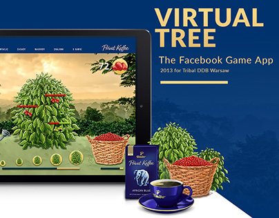 """Tchibo """"Virtual Tree"""" / facebook game"""