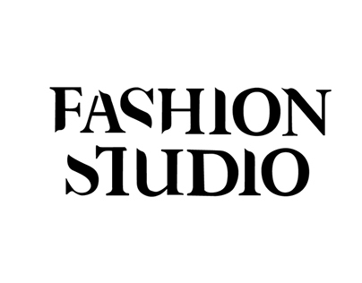 Fashion Studio typeface / magazine