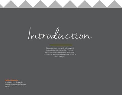 Organic Restaurant Information Architecture