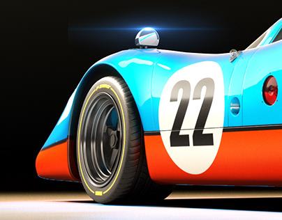 Porsche 917 K - Full CGI