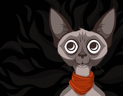 Sphinx Cat | Saturday Doodle Stream 2021