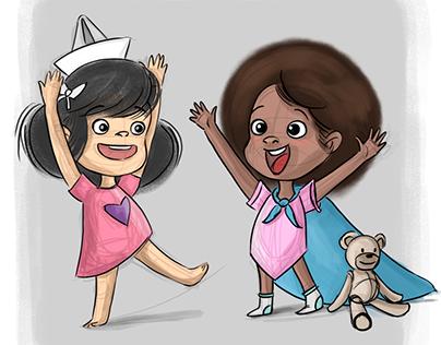 Ilustración infantil   Personajes