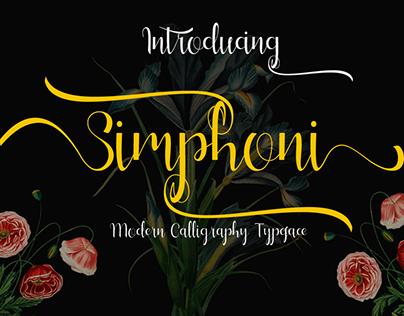 My Font is Simphoni