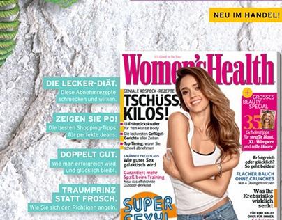 Women's Health – Printkampagne