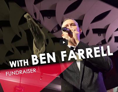 Sizzle Reel of Fundraiser Ben Farrell