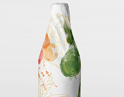 New Zealand Pinot Gris wine wrap