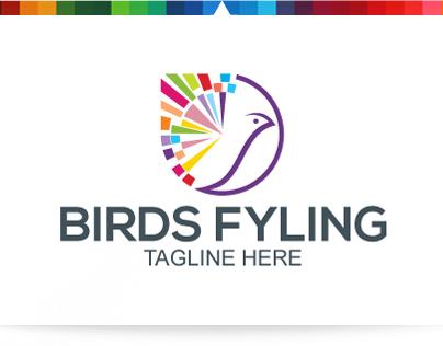 Bird Flying | Logo Template