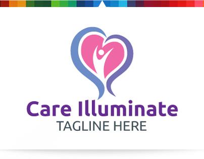 Care Illuminate | Logo Template