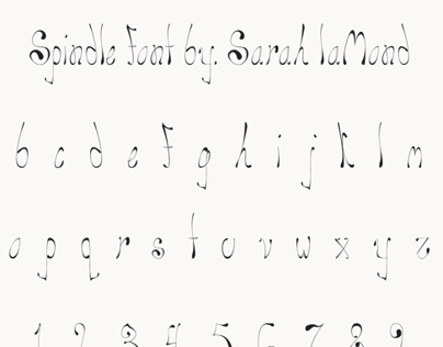 Spindle Font