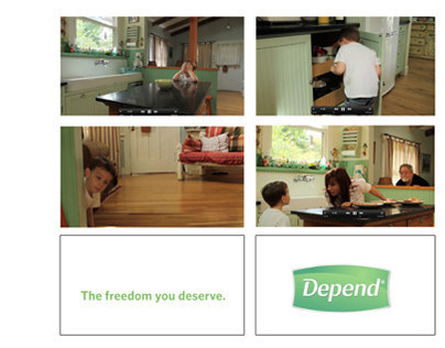 Depends Adult Commercial