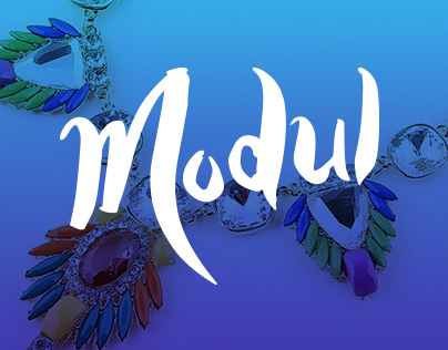 Lettering logo for fashion jewelery online store