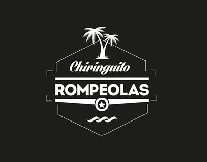 Logo Chiringuito Rompeolas · corporate Identity