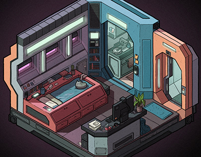 Futuristic Micro Apartments