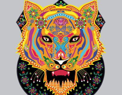 'Junglee'- Truck Art animals for Designwallas.
