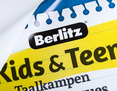Campagne Kids & Teens for Berlitz