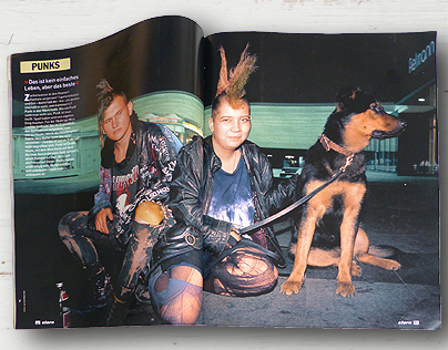 Punks - Photo Story