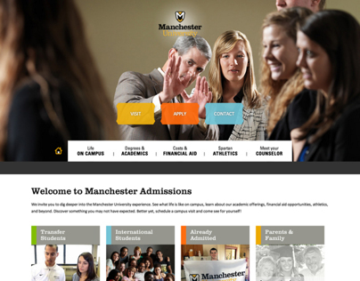 Manchester University Admissions