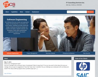 ITCS Website Redesign