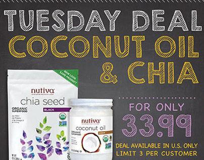 Social Media Campaign | Nutiva Super Foods