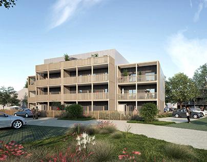 26 logements modulaires /// Laillé